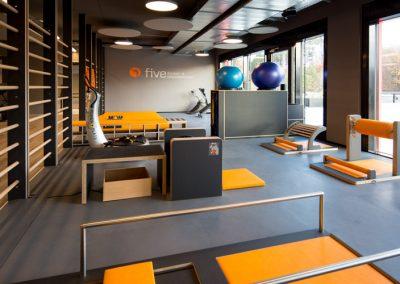 FIVE_Studio_Trainingsbereich